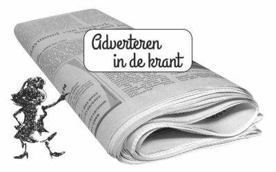 Adverteren in de krant